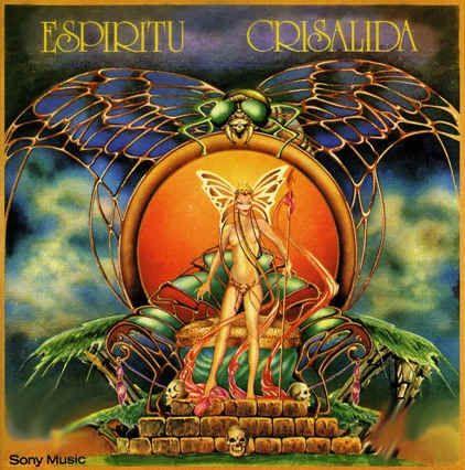 Tapa del disco de Espíritu - Crisálida (1975)