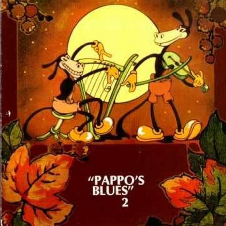 Tapa del disco de Pappo's Blues - Volumen 2 (1972)