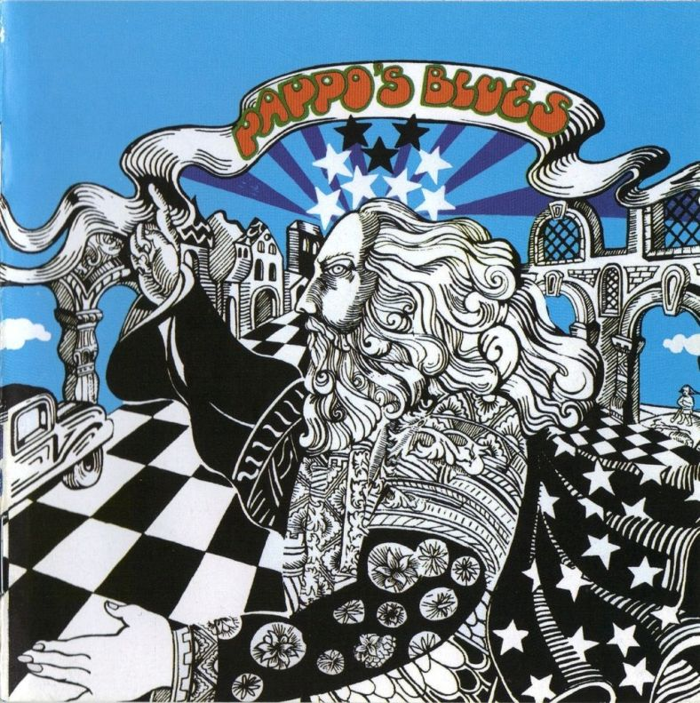 Tapa del disco Pappo's Blues - Volumen 3 (1973)