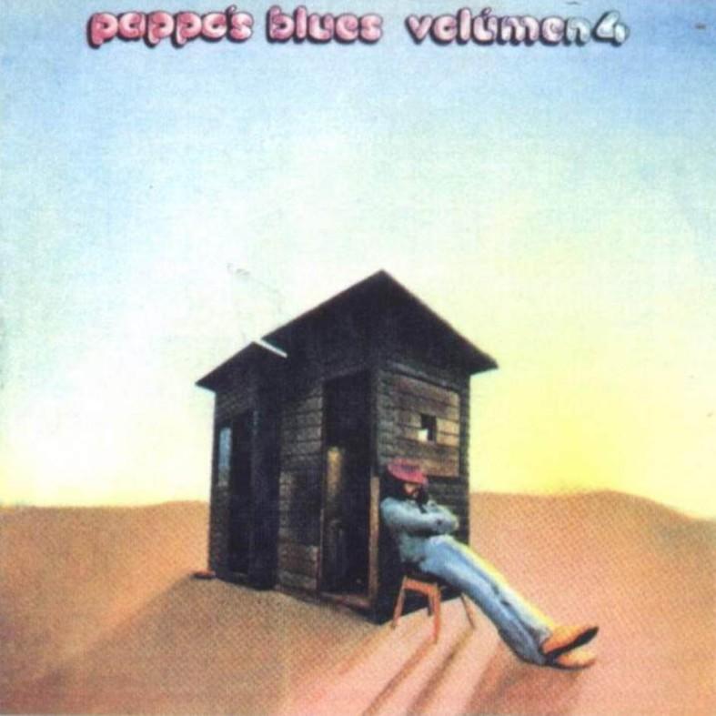 Tapa del disco Pappo's Blues - Volumen 4 (1973)