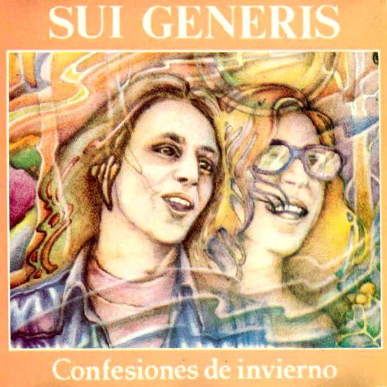 Tapa del disco de Sui Generis - Confesiones de invierno (1973)