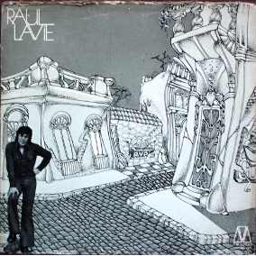 Tapa del disco de Raúl Lavié (1973)