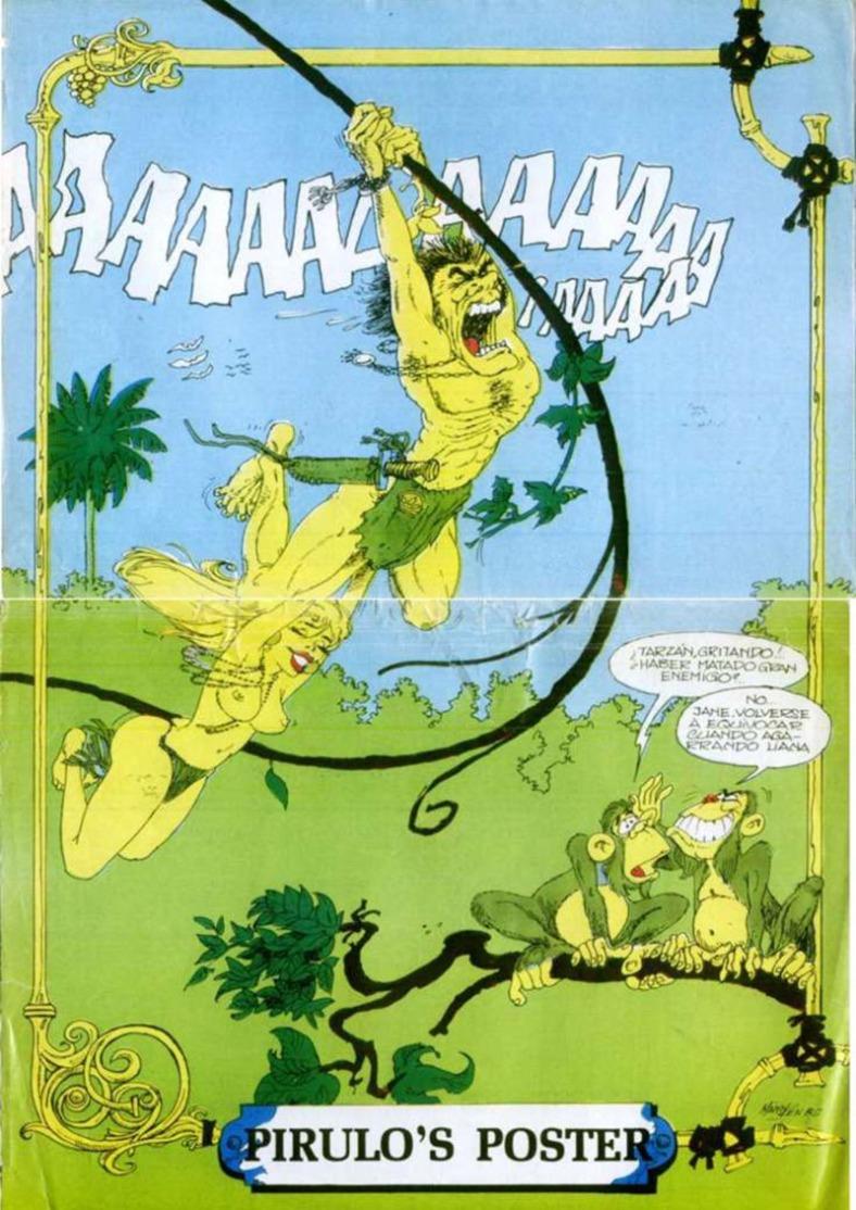revista revista El gran pirulo, 1987 Pirulo`s poster