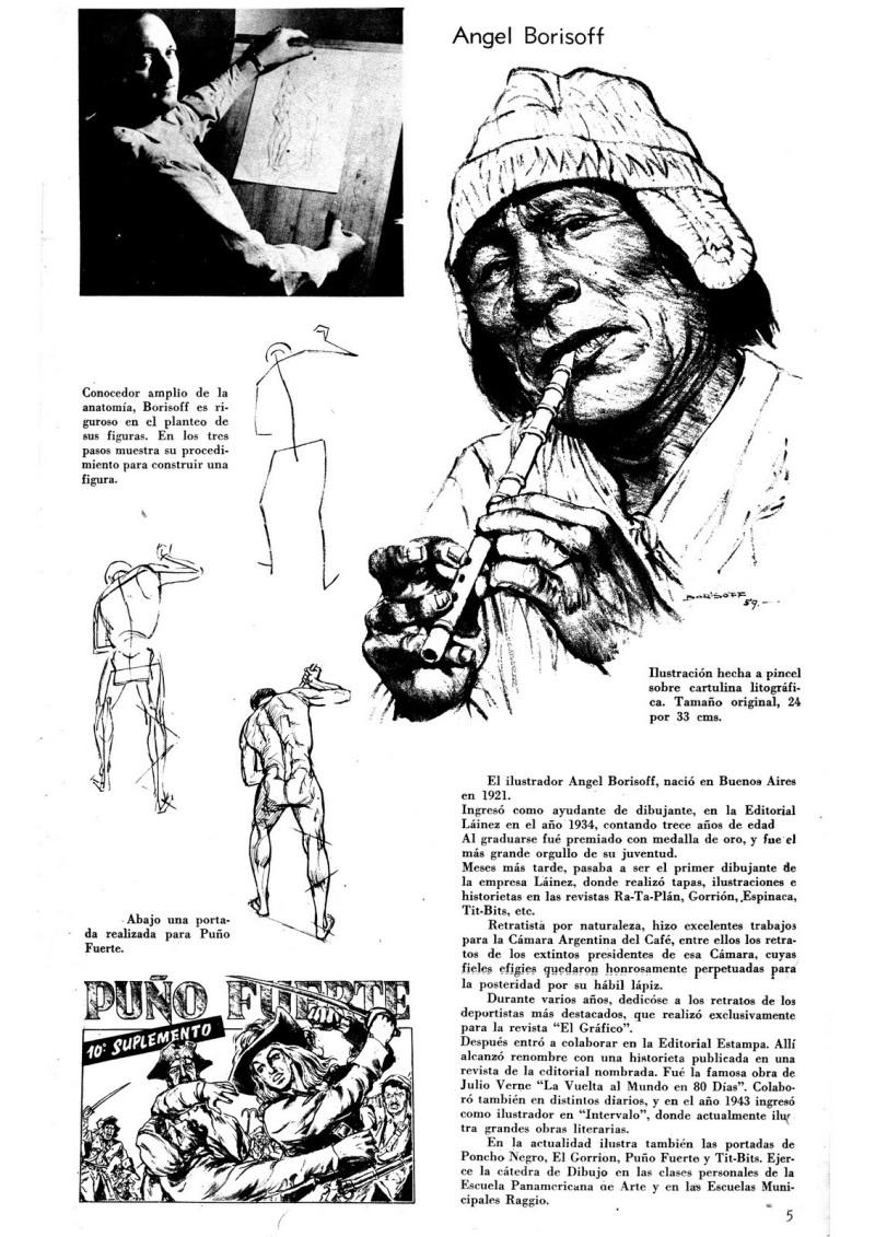 Curso ilustradores, material, Angel Borisoff