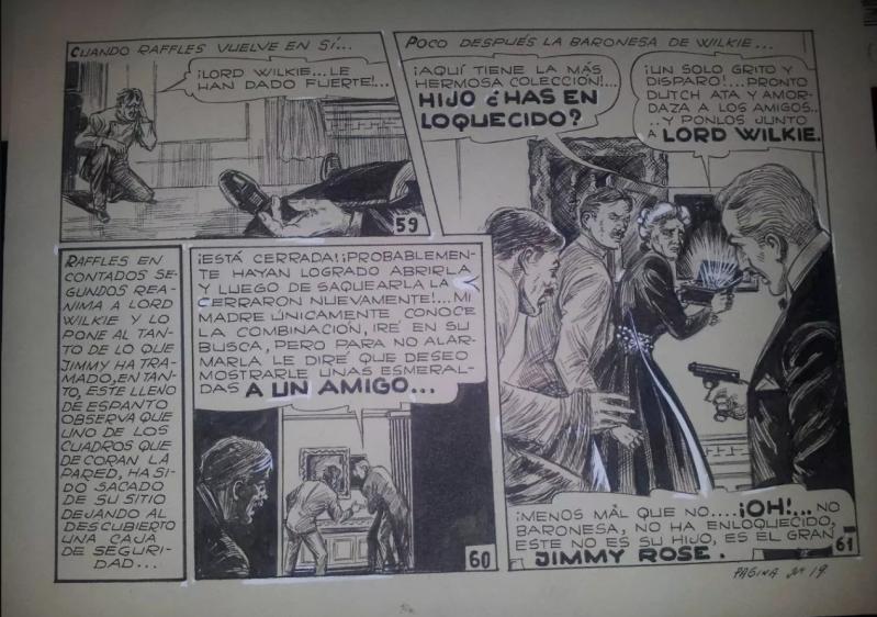 Angel Borisoff - Ilustración historieta original