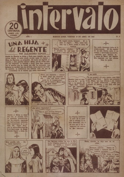 Angel Borisoff - Historieta revista Intervalo