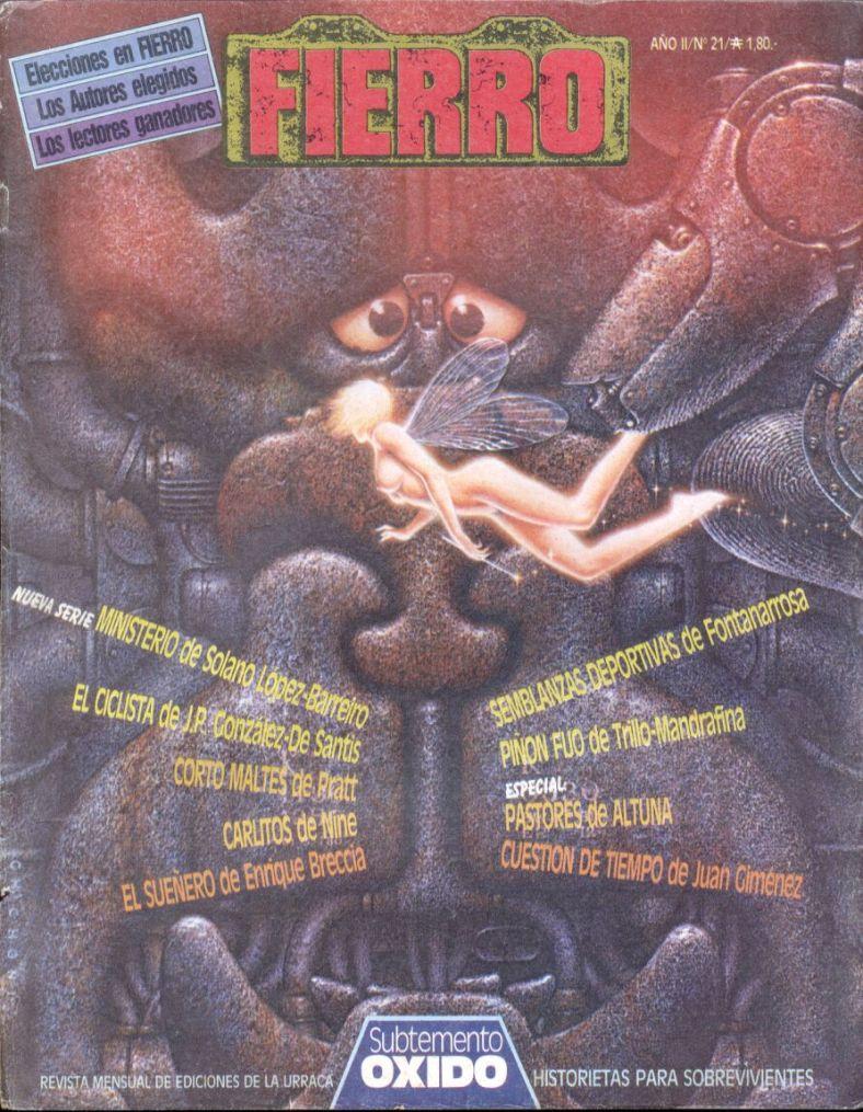 Revista Fierro #21- Mayo 1986