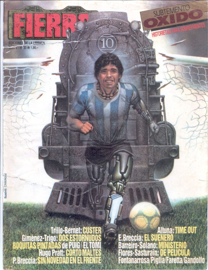 Revista Fierro #23- Julio 1986
