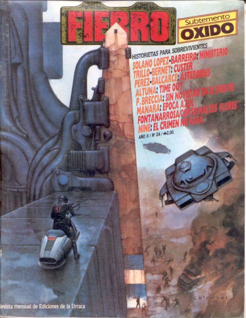 Revista Fierro #24- Agosto 1986