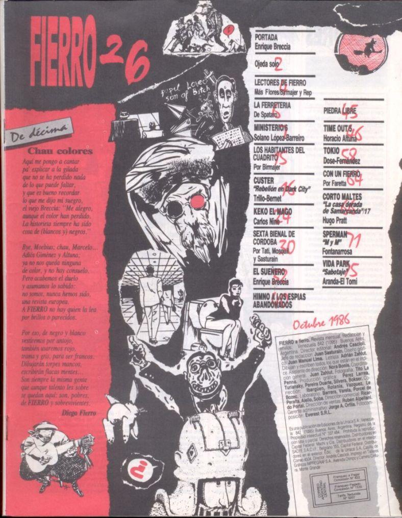 Revista Ferro #26- Octubre 1986