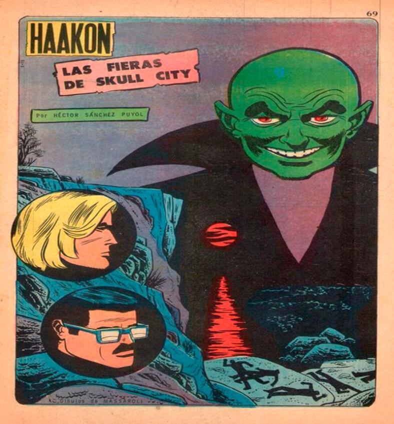 Tapa del comic Haakon