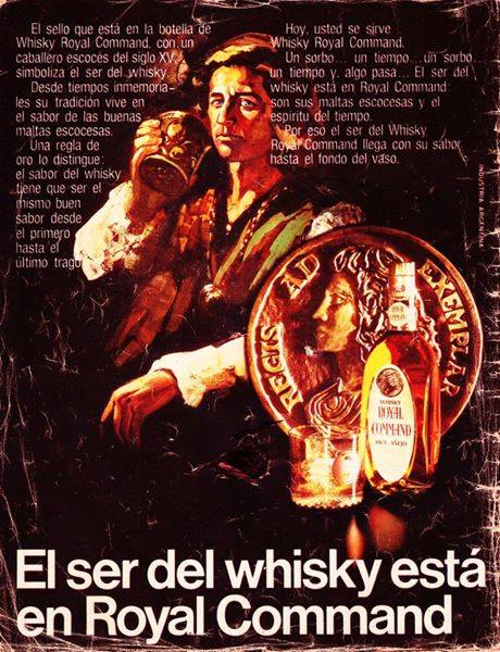 El Ser del Whisky 1975. Royal Command.