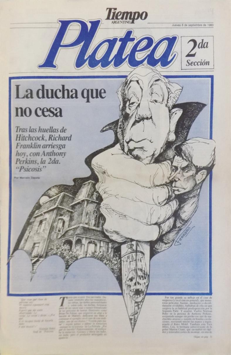 Tapa Diario Tiempo Argentino