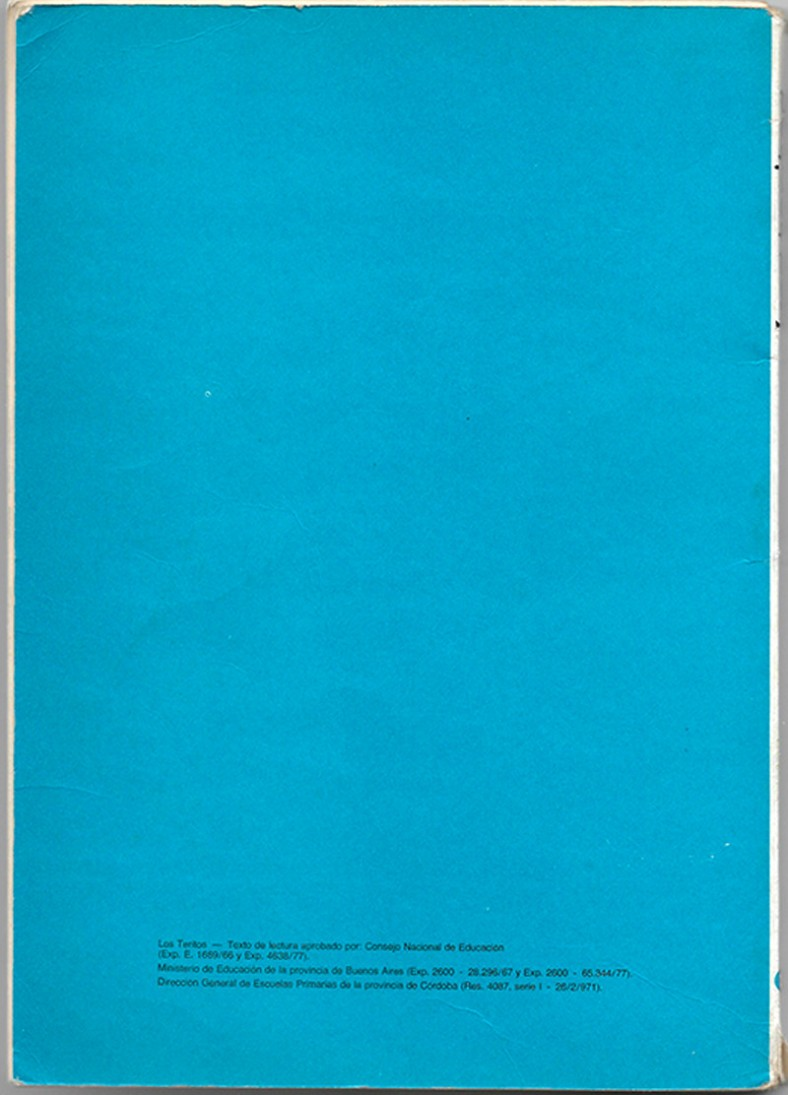 Contratapa del libro