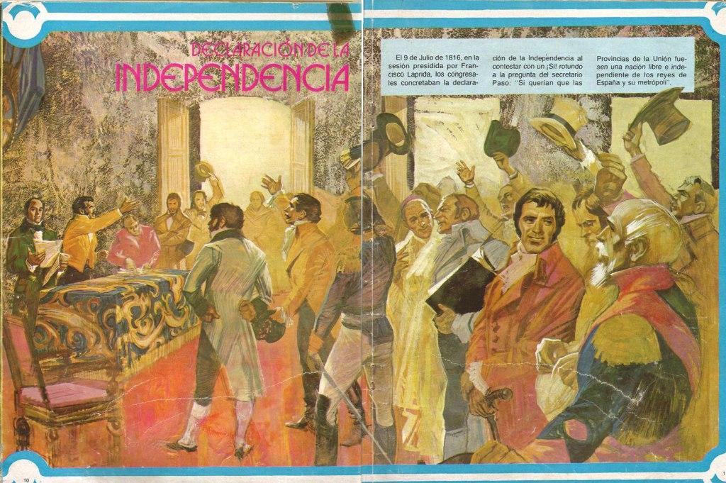 Rodolfo Julio Pazos - illustration revista Billiken 1979